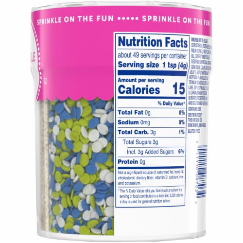 Kroger® Sprinkle Mix Shaker Perspective: right