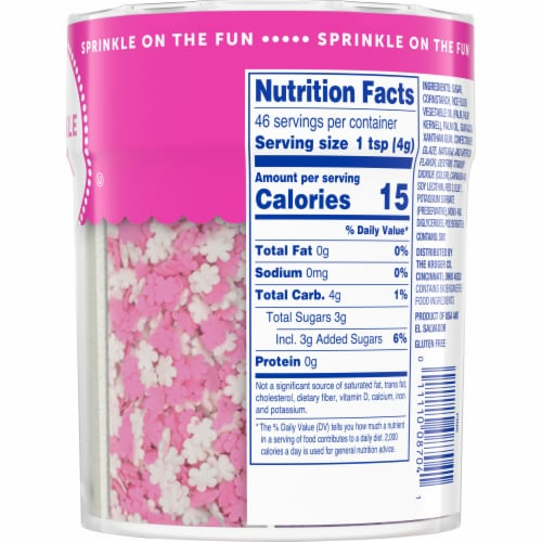 Kroger® Sprinkle Mix Shaker Perspective: right