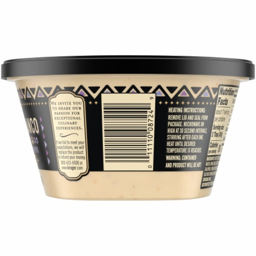 Private Selection® Medium Queso Blanco Cheese Dip Perspective: right