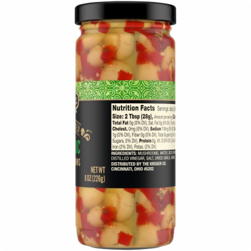 Private Selection® Marinated Garlic Mushrooms Perspective: right