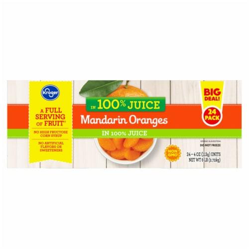 Kroger® Mandarin Oranges in 100% Juice Family Pack Perspective: right