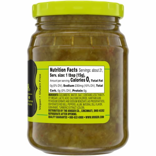Kroger® Dill Pickle Relish Perspective: right
