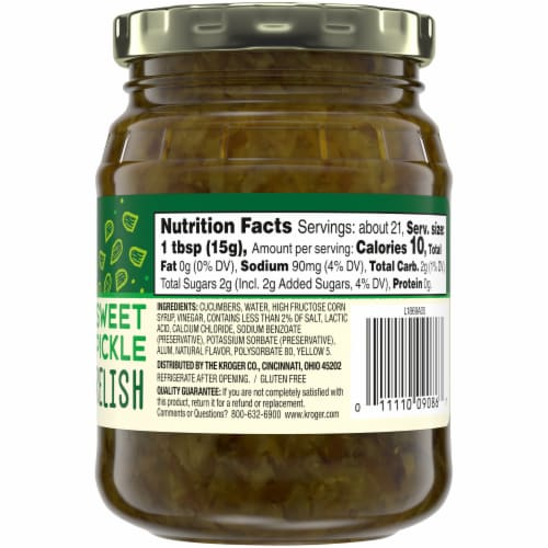 Top 'Ems Sweet Pickle Relish Perspective: right
