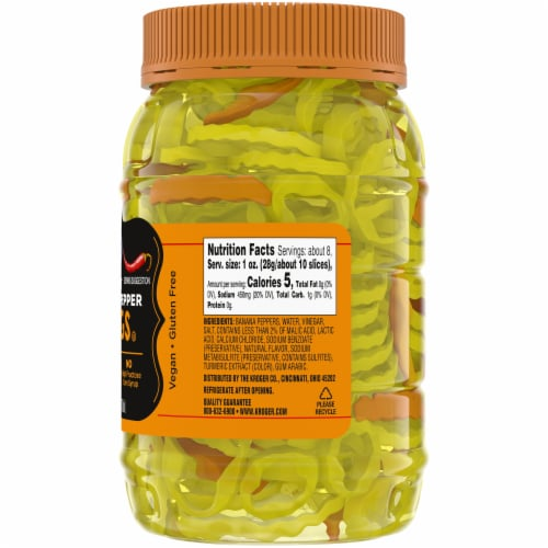 Kroger® Hot Banana Pepper Rings Perspective: right