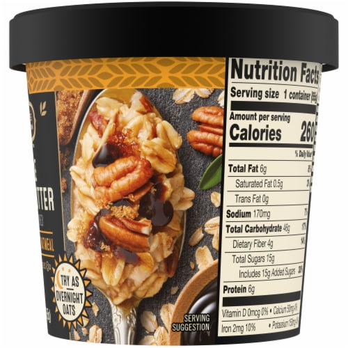 Private Selection™ Maple Brown Butter Oatmeal Cup Perspective: right