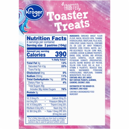 Kroger® Unicorn Toaster Treats Perspective: right