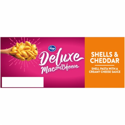 Kroger® Deluxe Shells & Cheddar Mac & Cheese Perspective: right