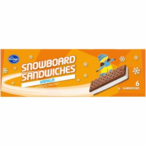 Kroger® Vanilla Snowboard Sandwich Perspective: right