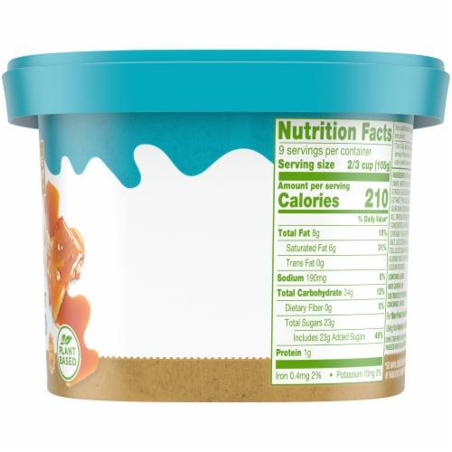 Simple Truth™ Sea Salt Caramel Oatmilk Non-Dairy Frozen Dessert Perspective: right