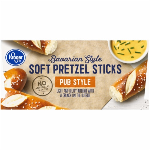 Kroger Bavarian Style Soft Pretzel Sticks Perspective: right
