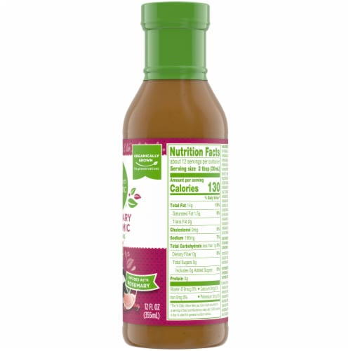 Simple Truth Organic® Balsamic Salad Dressing Perspective: right