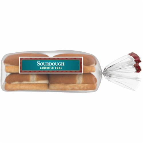 Western Hearth Sourdough Sandwich Buns Perspective: right