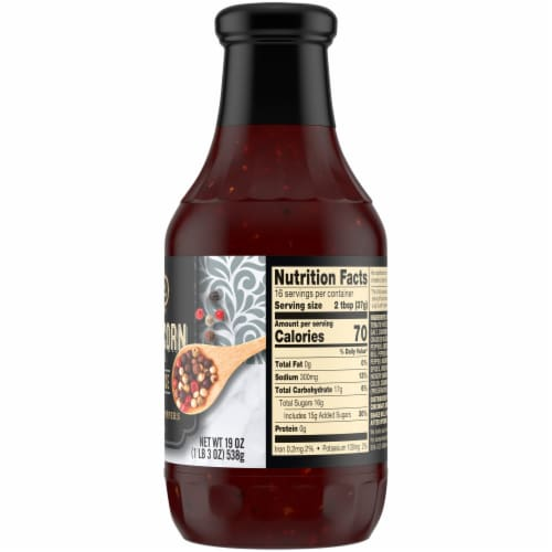 Private Selection® 5 Peppercorn Blend Barbecue Sauce Perspective: right
