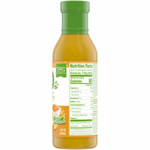 Simple Truth Organic® Lemon Turmeric Dressing Perspective: right