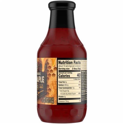 Private Selection® Applewood Smoke Honey Maple BBQ Sauce Perspective: right