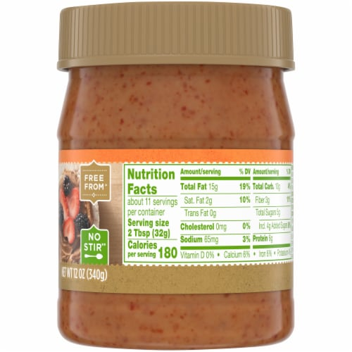 Simple Truth® No Stir Smooth Honey Almond Butter Perspective: right
