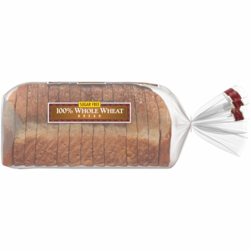 Western Hearth® Sugar Free Wide Pan 100% Whole Wheat Bread Perspective: right