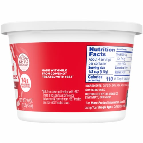 Kroger® 4% Whipped Cottage Cheese Perspective: right
