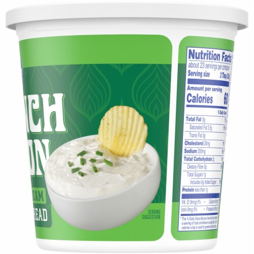 Kroger® French Onion Sour Cream Dip & Spread Perspective: right