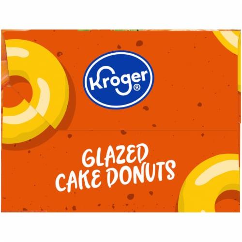 Kroger® Pumpkin Glazed Cake Donuts Perspective: right