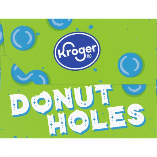 Kroger® Glazed Plain Donut Holes Perspective: right