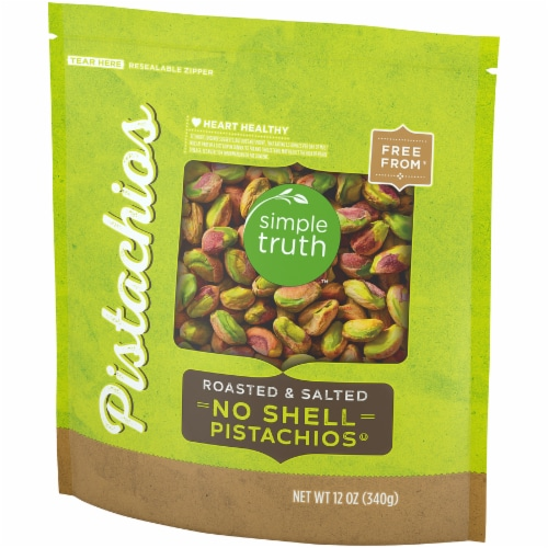Simple Truth™ Roasted & Salted No Shell Pistachios Perspective: right