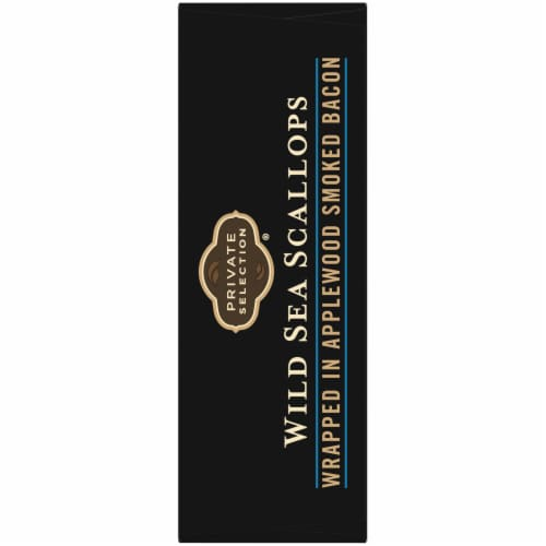 Private Selection® Applewood Smoked Bacon Wrapped Wild Sea Scallops Perspective: right