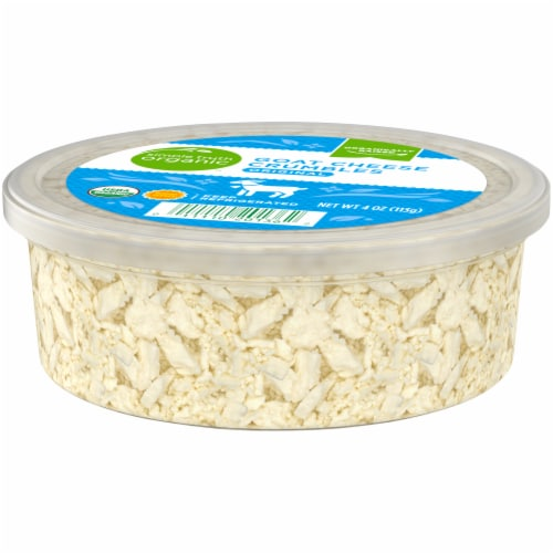 Simple Truth Organic™ Original Goat Cheese Crumbles Perspective: right