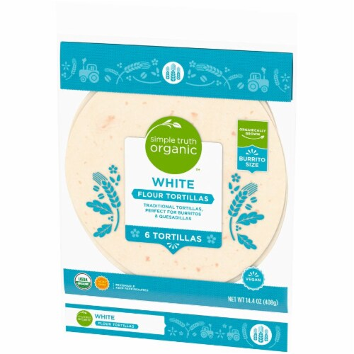 Simple Truth Organic™ White Flour Tortillas Perspective: right