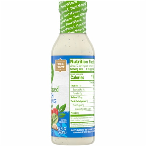 Simple Truth Plant Based Gluten Free Ranch Dressing Perspective: right