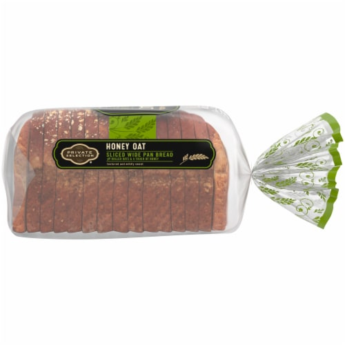 Private Selection® Honey Oat Sliced Wide Pan Bread Perspective: right