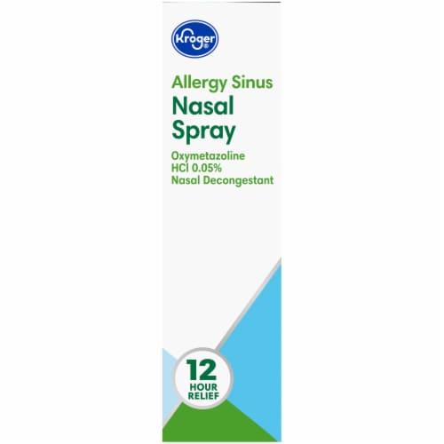 Kroger®  Allergy Sinus Nasal Spray Perspective: right