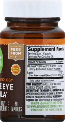 Simple Truth™ Bio-Shield Technology Ultimate Eye Formula Capsules Perspective: right