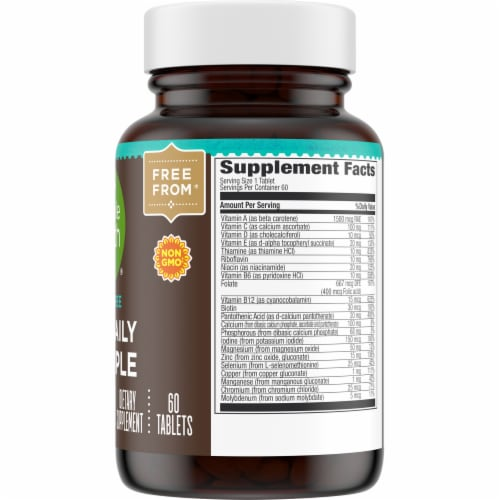 Simple Truth® Iron Free One Daily Multiple Supplement Tablets Perspective: right