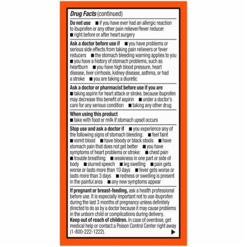 Kroger® Ibuprofen Coated Caplets Perspective: right