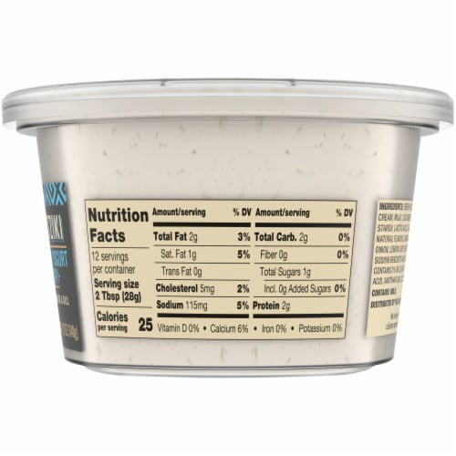 Private Slection® Tzatziki Greek Yogurt Dip Perspective: right