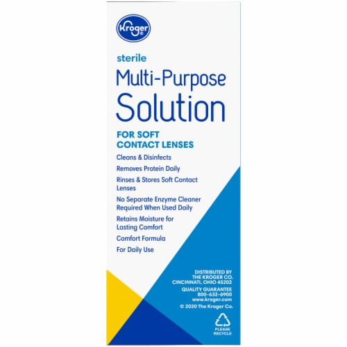 Kroger® Multi-Purpose Soft Contact Lens Solution Perspective: right