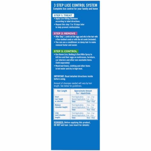Kroger®  Step 1: Treat Lice Killing Shampoo Perspective: right