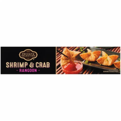 Private Selection® Shrimp and Crab Rangoon's with Thai Chili Sauce Frozen Meal Perspective: right