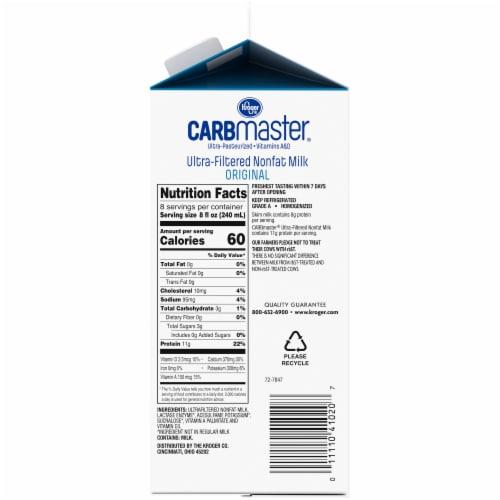 Kroger® CarbMaster® Original Ultra-Filtered Nonfat Milk Perspective: right