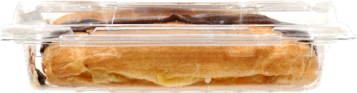 Bakery Fresh Goodness New York Style Chocolate Iced Eclairs Perspective: right
