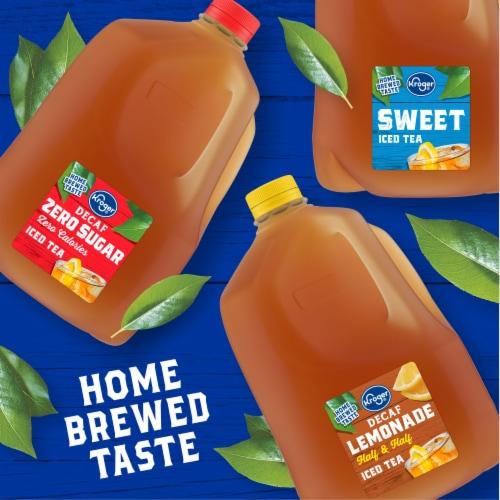 Kroger® Decaf Lemon Flavored Sweet Iced Tea Perspective: right