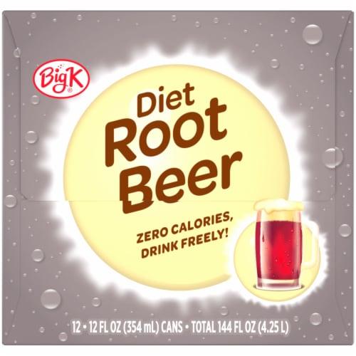Big K® Diet Root Beer Perspective: right
