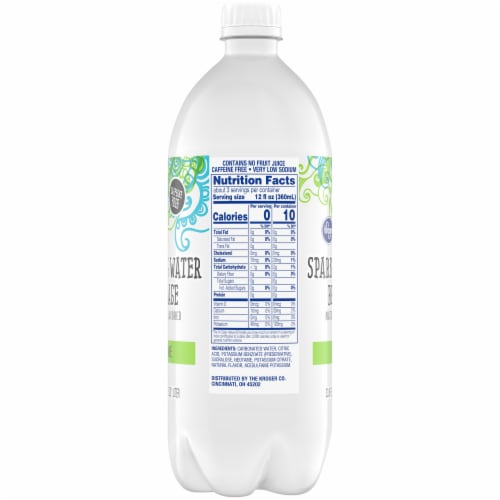 Kroger® Key Lime Sparkling Water Perspective: right