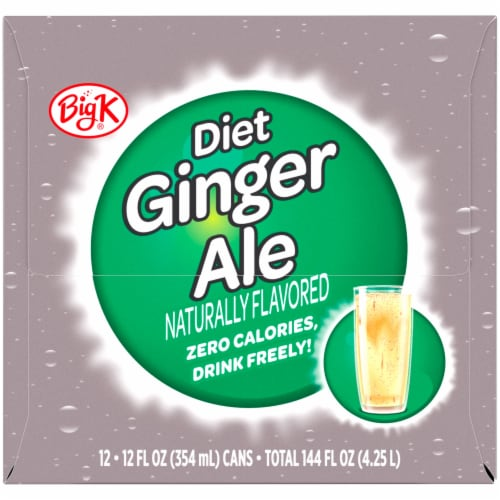 Big K® Diet Ginger Ale Perspective: right