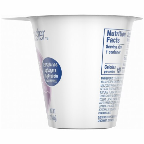 Kroger® CarbMaster™ Cinnamon Raisin Low Fat Cottage Cheese Perspective: right