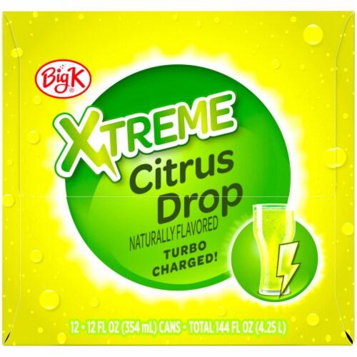 Big K® Xtreme Citrus Drop Soda Perspective: right
