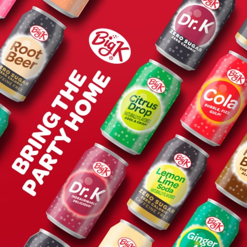 Big K® Cola Oh! Zero Calorie Soda Perspective: right