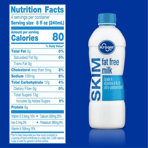 Kroger® Fat Free Skim Milk Perspective: right