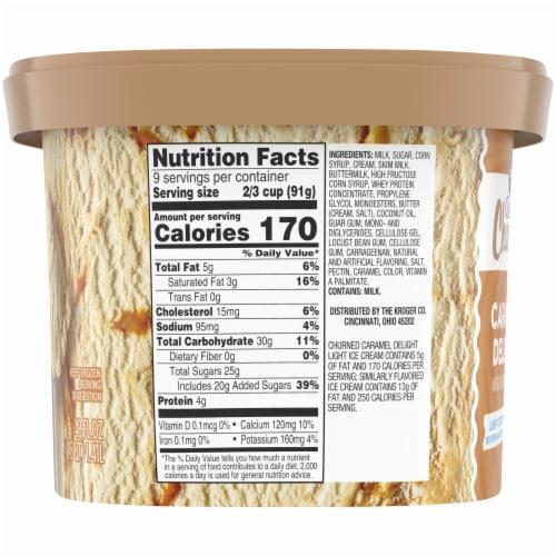 Kroger® Deluxe Churned Caramel Delight Light Ice Cream Perspective: right
